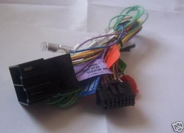 Pioneer AVIC-U310BT AVICU310BT AVIC U310BT Power Loom Harness Lead iso Genuine spare part